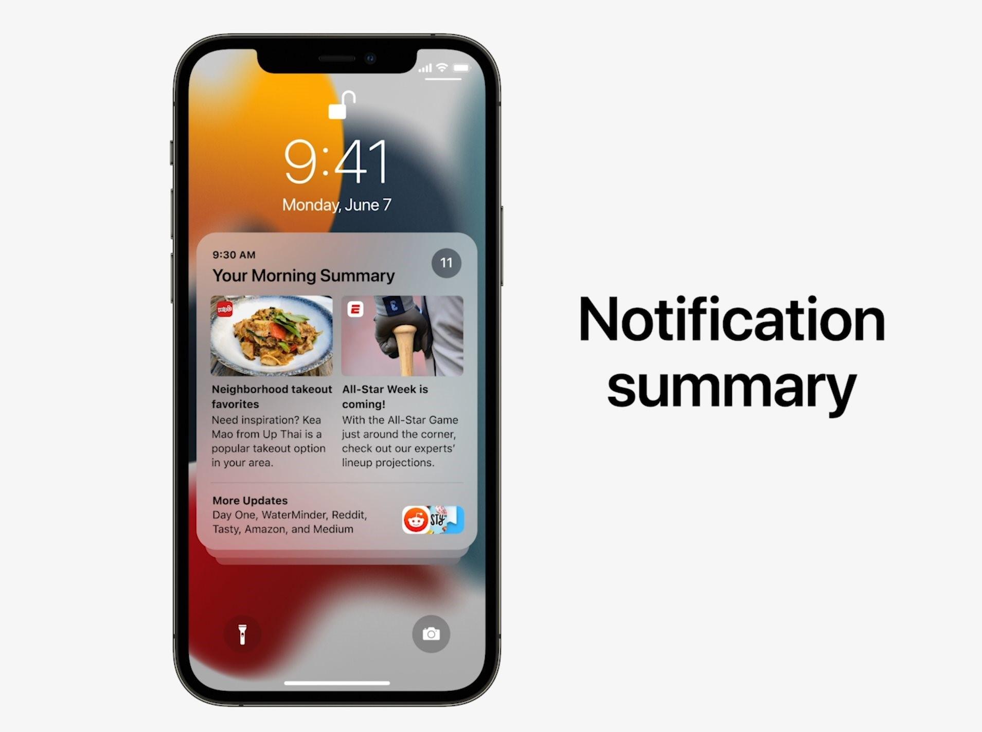 Notification Summary