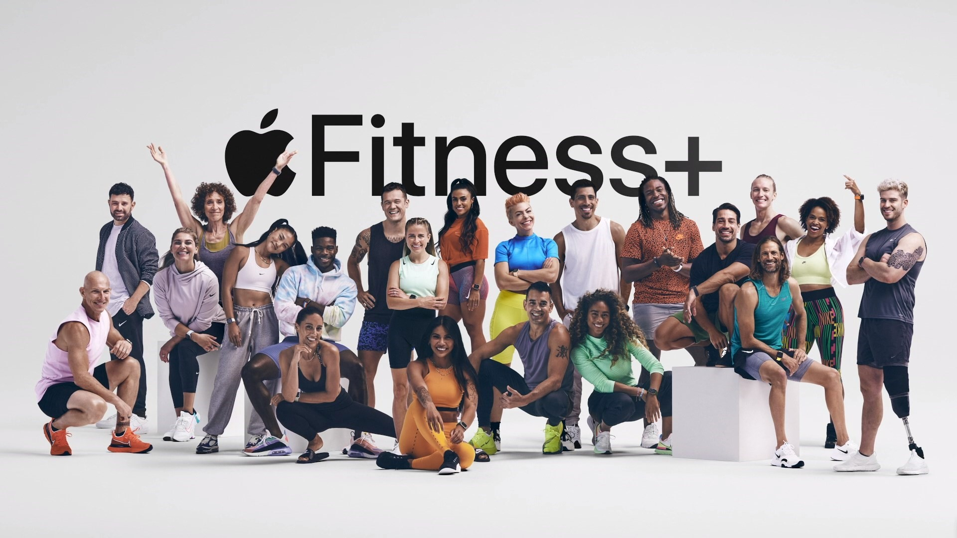 Apple's trainers for Fitness+
